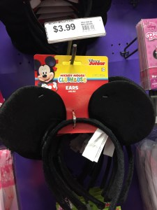 Mickey Mouse ears headband at Party City - A Frugal Mom's Guide To Disney - 10 Ways To Save At Disney