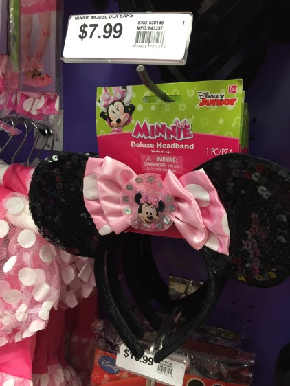 Minnie Mouse headbands at Party City - A Frugal Mom's Guide To Disney - 10 Ways To Save At Disney
