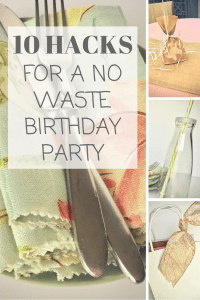 10 Hacks For A No Waste Birthday Party