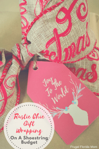 Rustic Chic Gift Wrapping On A Shoestring Budget And Printable Gift Tags