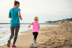 Take your kids along on your New Year's resolution or fitness goals and get them running with three easy ways.