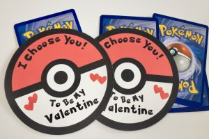 Pokemon Card Valentines Free Printables