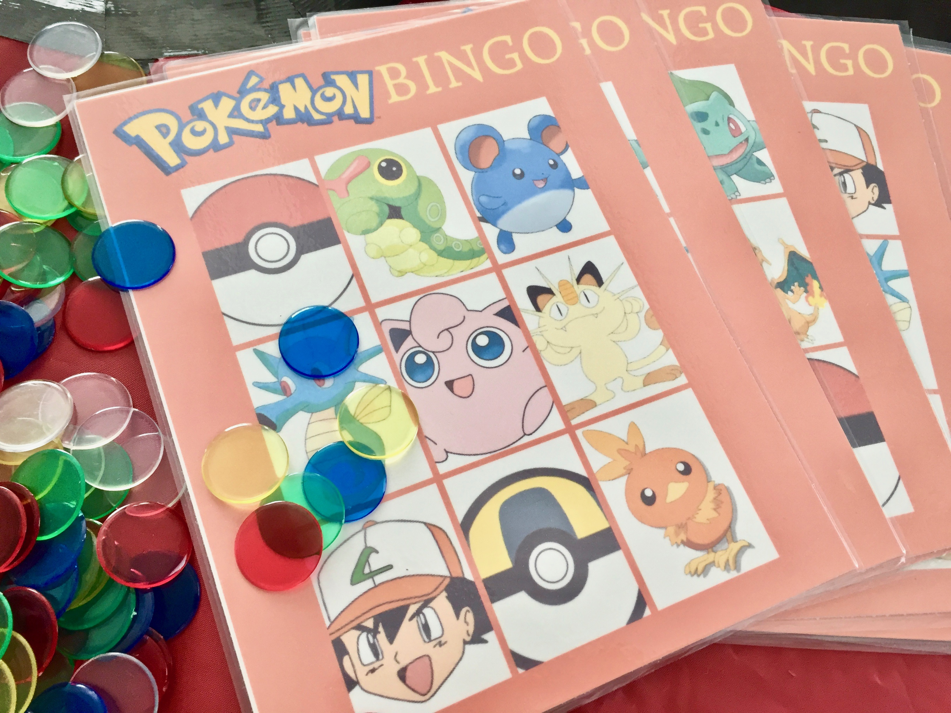 photograph relating to Printable Pokemon Party Games called Pokemon Birthday Get together Suggestions Printables - Frugal Florida Mother