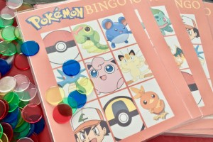 Free printable Pokemon Bingo - Pokemon Party Ideas & Printables