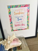Live In The Sunshine, Swim In The Sea, Drink The Wild Air - Affordable Ways To Spruce Up Your Home For Spring - With Free Spring Printables