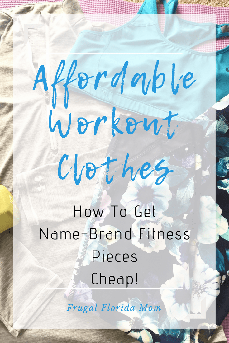 Affordable Workout Clothes - How To Get Name-Brand Fitness Pieces Cheap