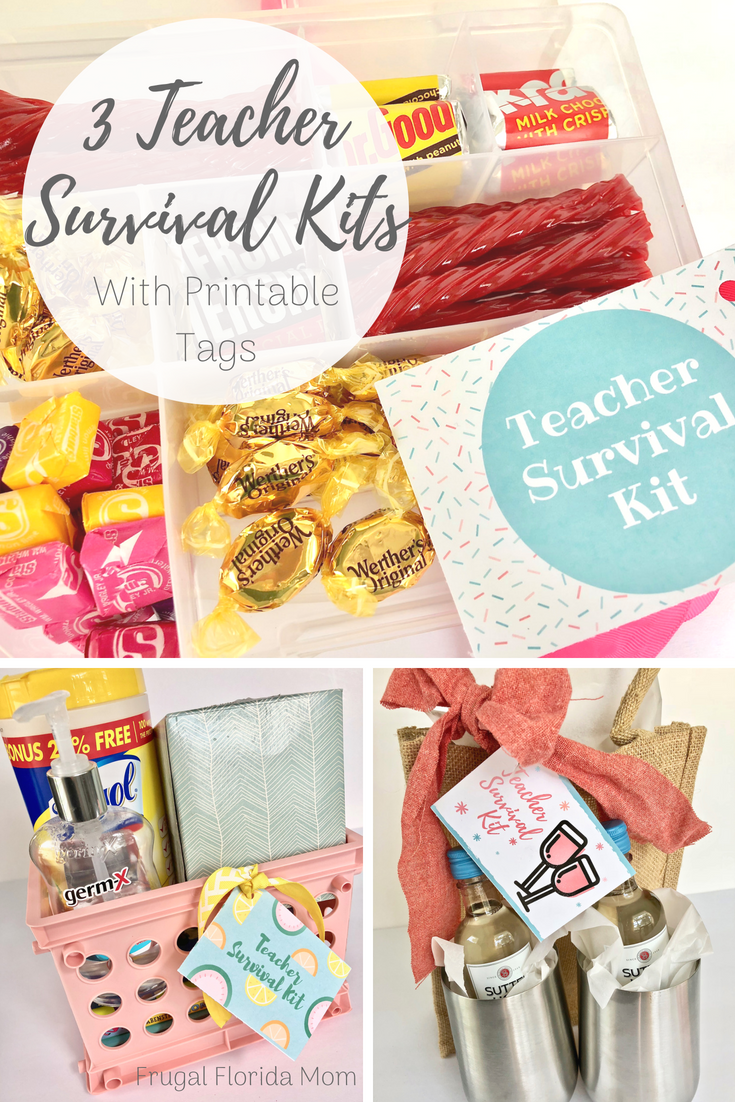 photograph about Teacher Survival Kit Printable referred to as 3 Trainer Survival Kits In the direction of Get started The Higher education 12 months - With