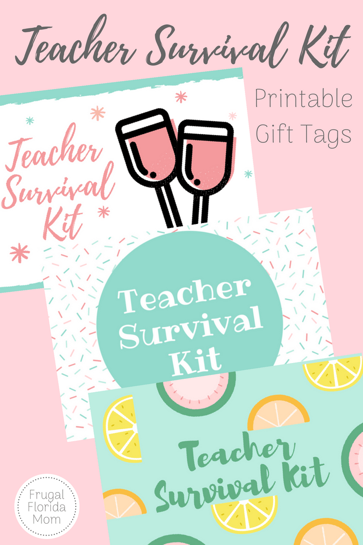 image regarding Teacher Survival Kit Printable identify 3 Trainer Survival Kits In direction of Get started The College 12 months - With