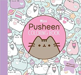 Pusheen coloring book - Pusheen Gift Guide