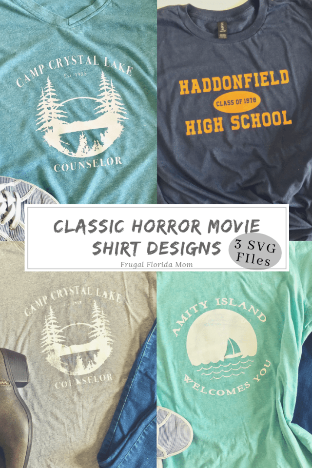 ea69e2b0d010 Classic Horror Movie Shirt Designs For Halloween - With SVG Files