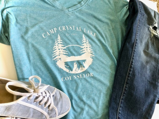 Camp Crystal Lake t-shirt - Classic Horror Movie Shirt Designs With SVGs
