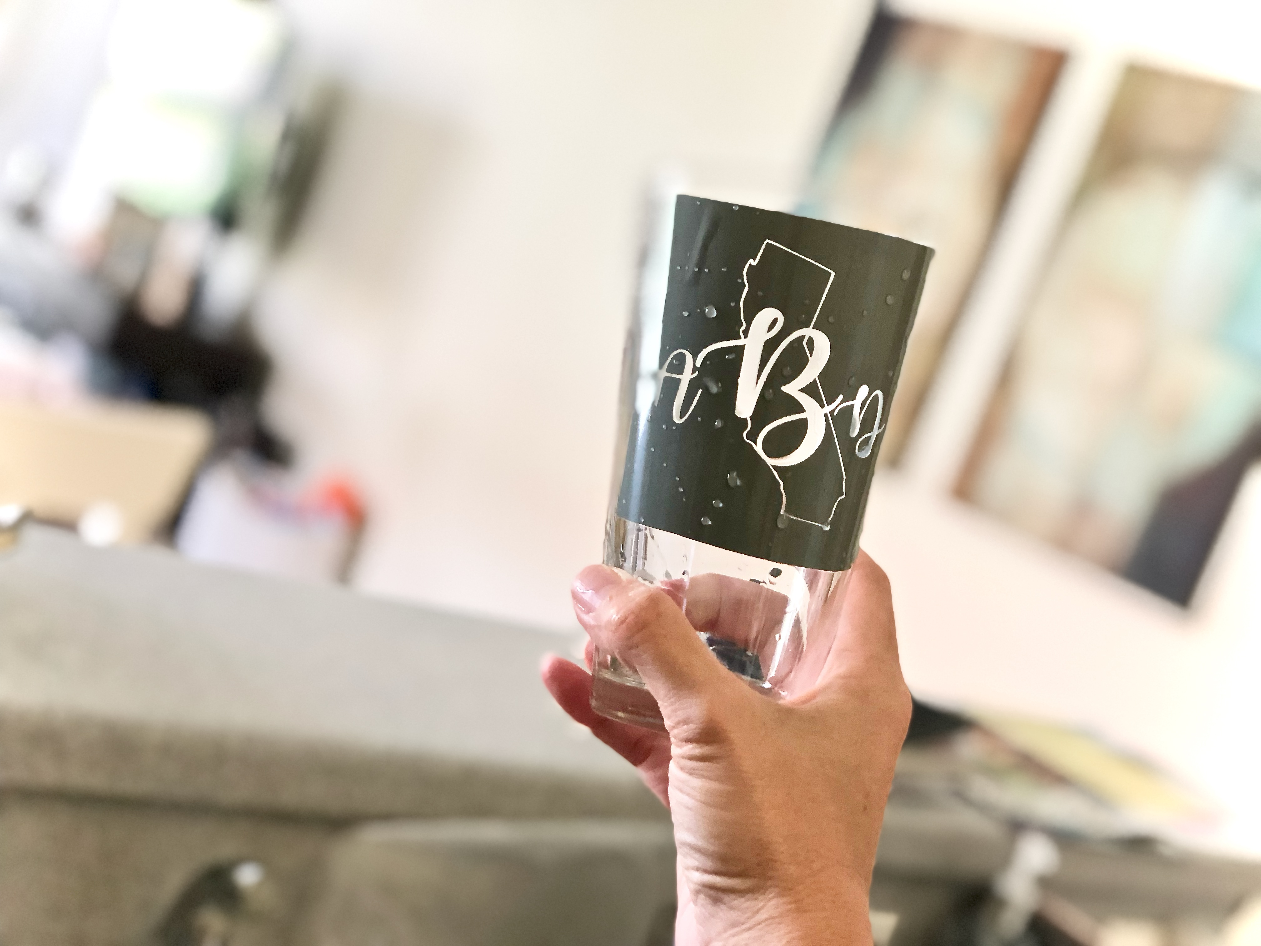 Glass etching DIY guide - Glass Etching With Your Cricut Or Silhouette