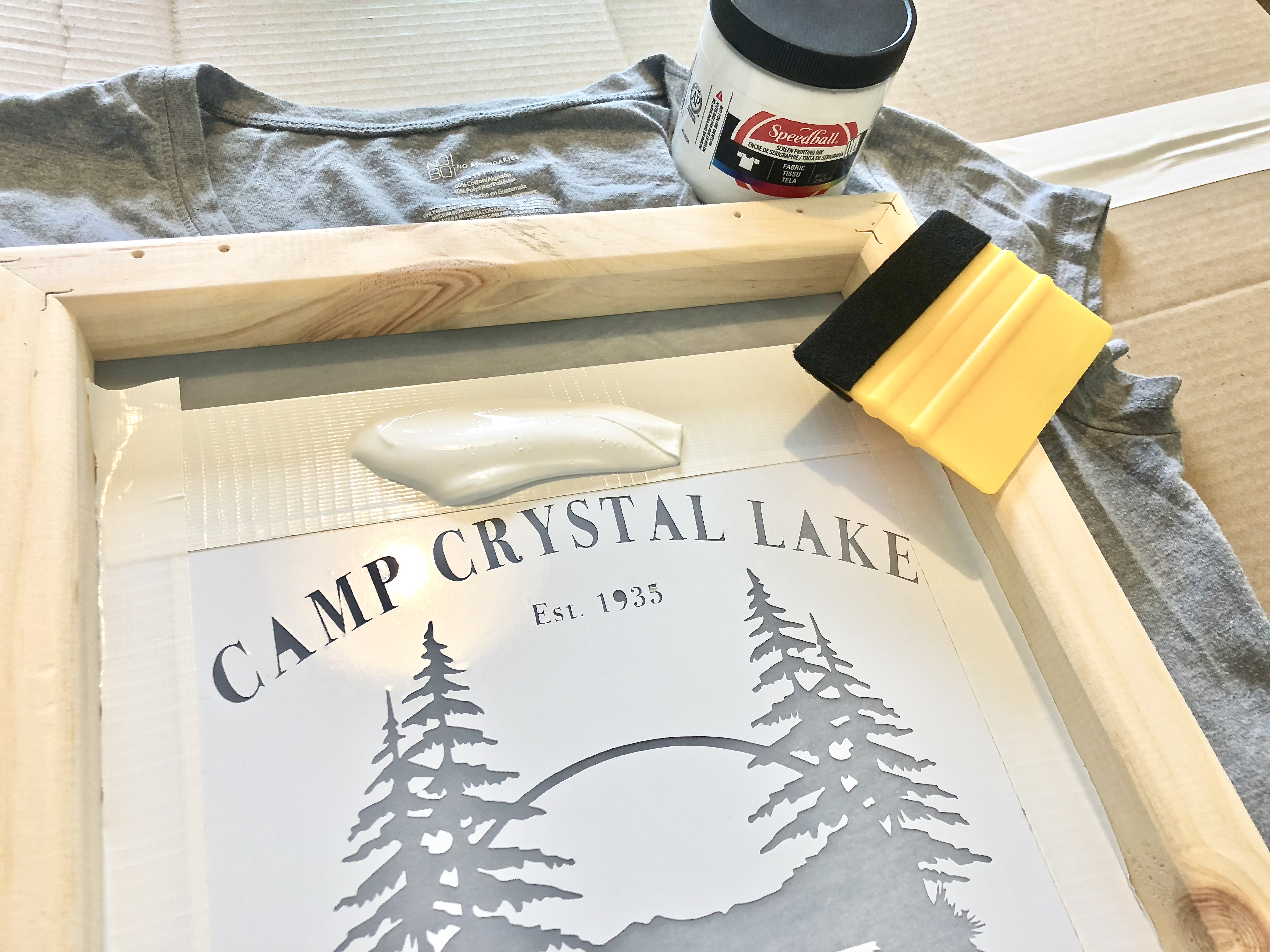 Screen Printing With Your Cricut Or Silhouette