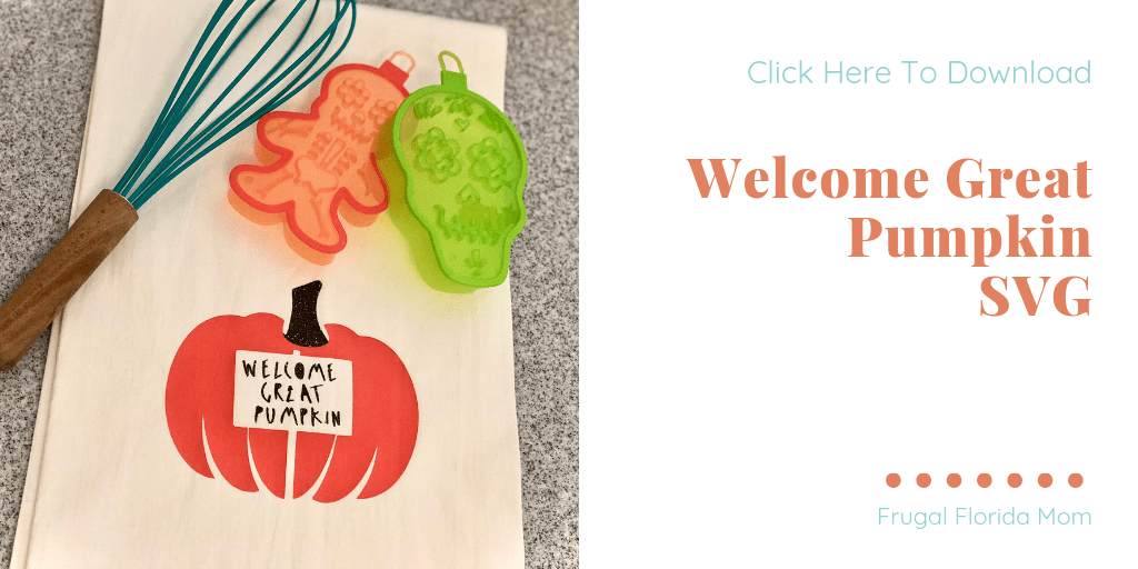 'Welcome Great Pumpkin' design inspired by Charlie Brown - Scary Cute Halloween Shirt Designs - 2 New SVGs