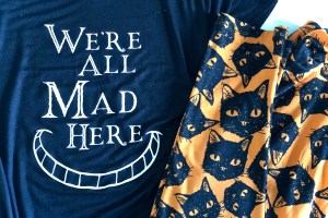'We're All Mad Here' design inspired by Alice In Wonderland - Scary Cute Halloween Shirt Designs - 2 New SVGs