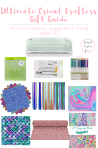 Ultimate Cricut Crafters Gift Guide - 30 Accessories, Supplies & Vinyl Under $30