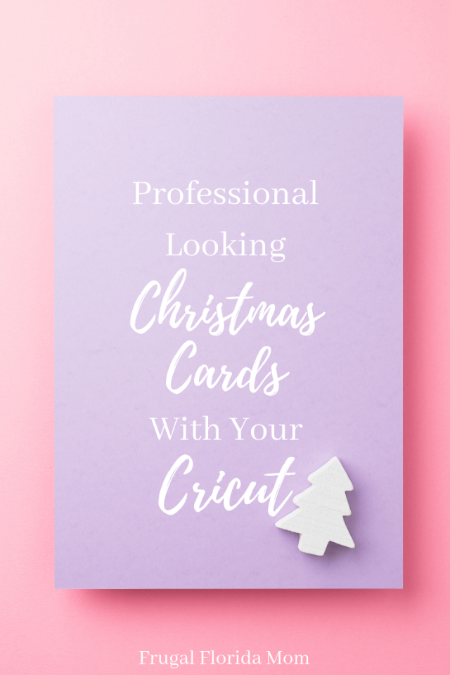 Professional Looking Holiday Card Envelopes & Gift Tags With Cricut