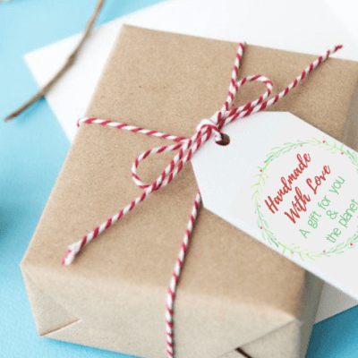 5 Ways To Give Eco-Friendly Holiday Gifts – With Printable Card & Gift Tags