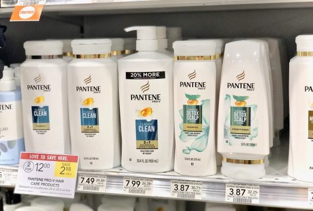 Pantene shampoo & conditioner - Everyday Savings On P&G Products At Publix