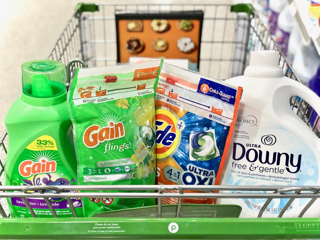Laundry detergent & pods - Everyday Savings On P&G Products At Publix