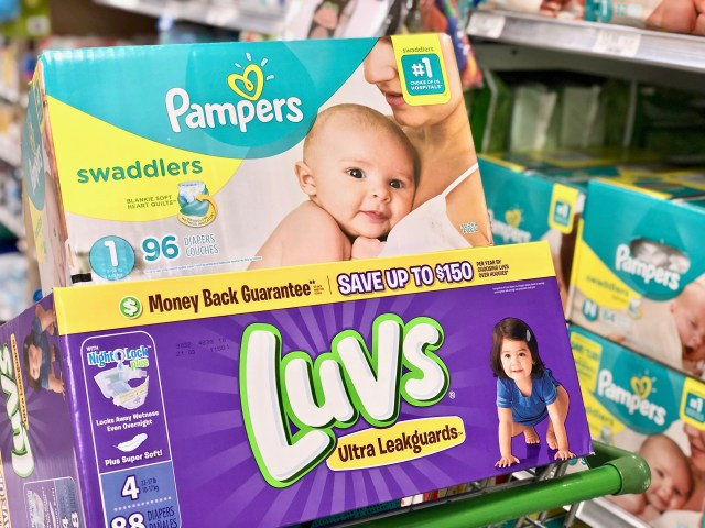 Pampers and Luvs diapers - Simplify Your Savings With P&G & Publix