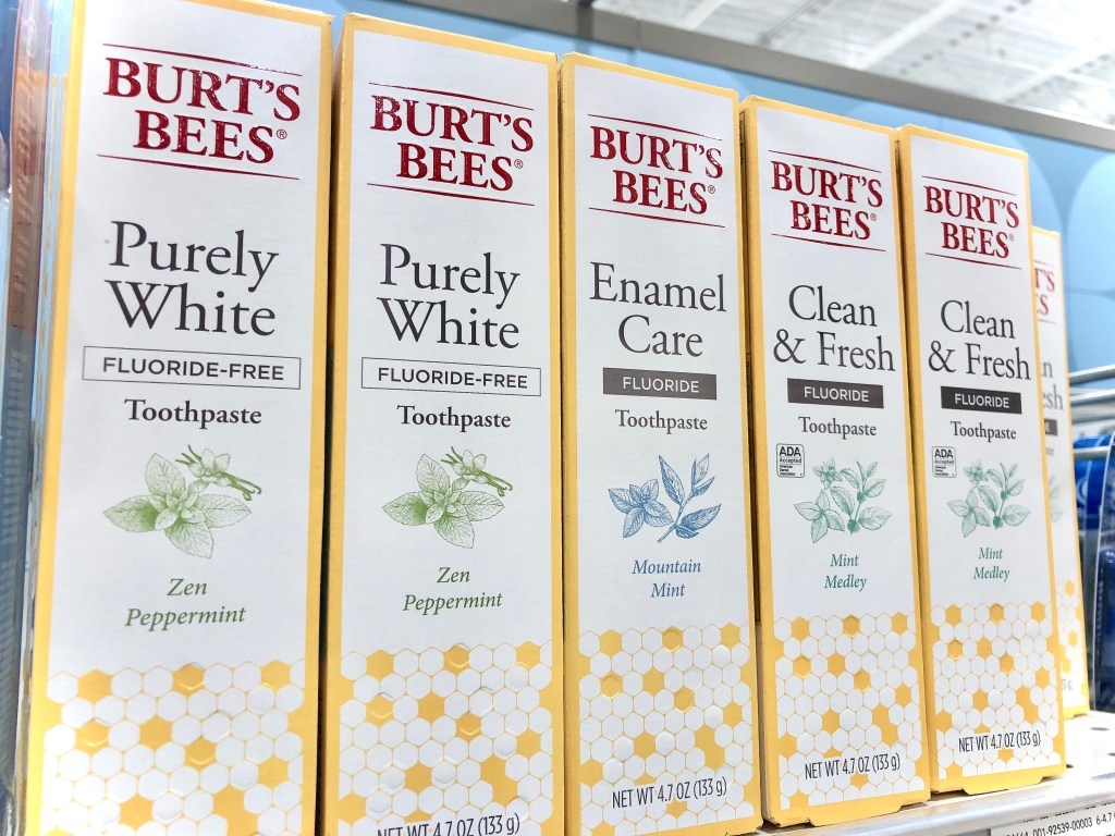 Burt's Bees Toothpaste - Simplify Your Savings With P&G & Publix