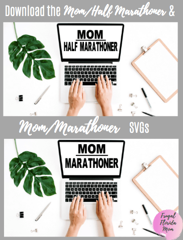 Mom Half Marathoner SVG