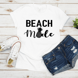 Beach Mode SVG File