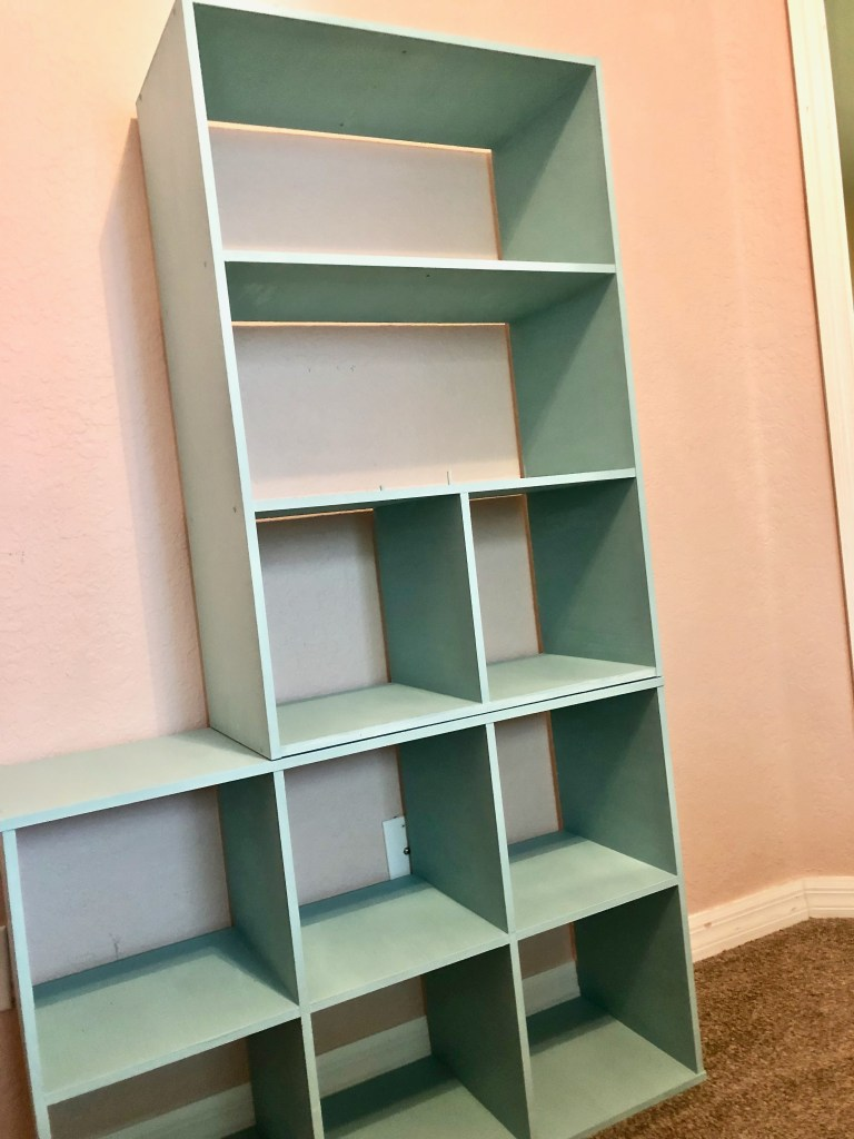 Custom DIY Shelf Upgrade With The Real Milk Paint Co. - Upgrading Kid Toy Cubbies To Tween Shelves