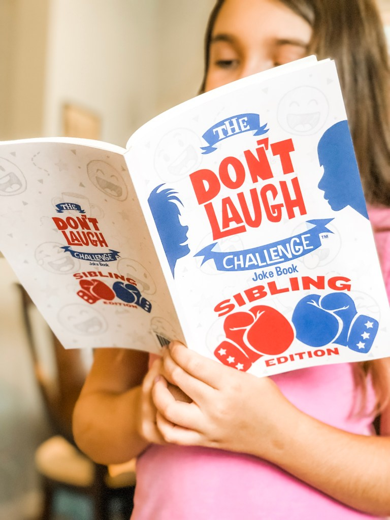Screen-Free Family Night Activities Everyone Will Love - With The Don't Laugh Challenge Books