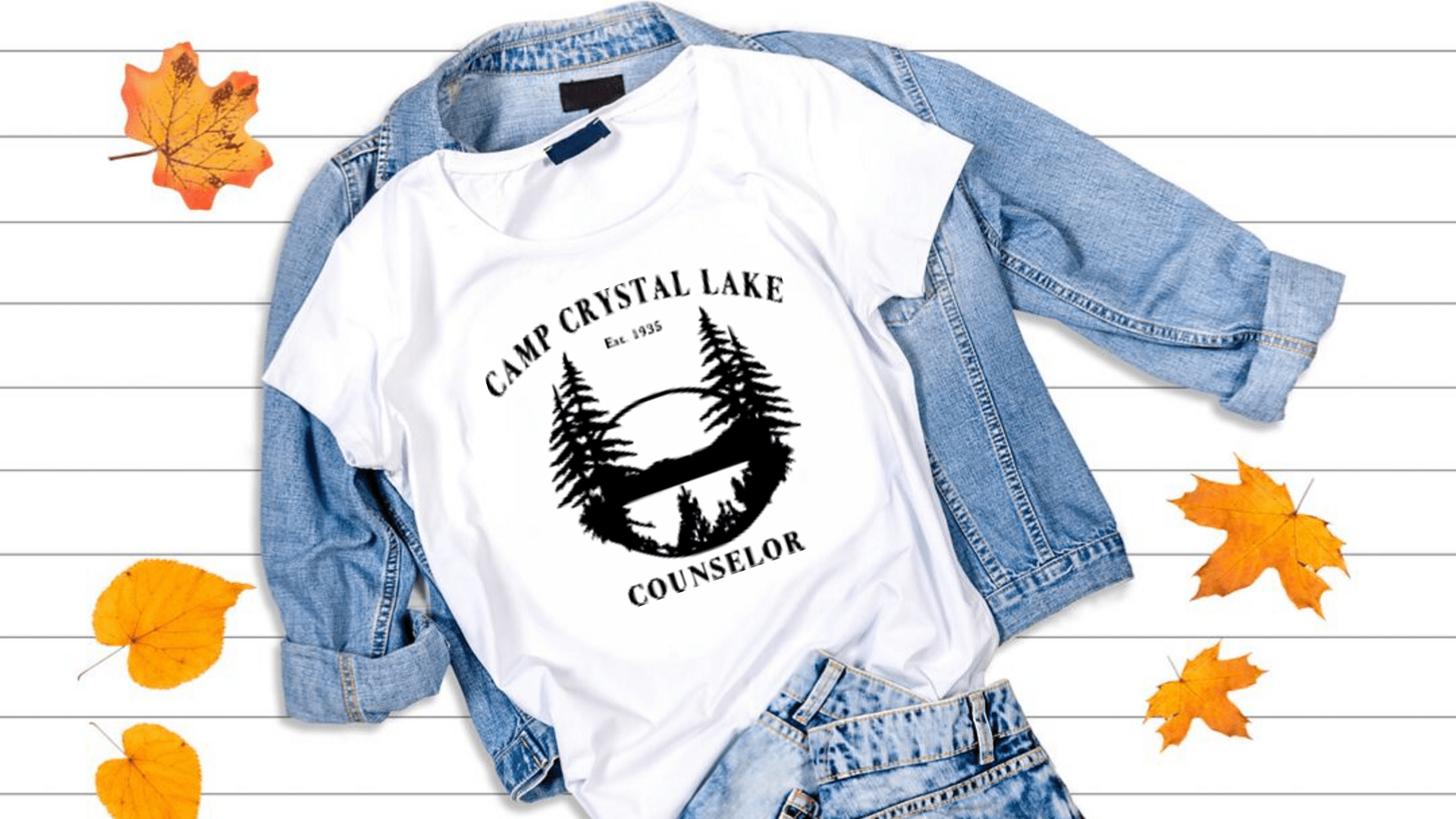 Camp Crystal Lake SVG