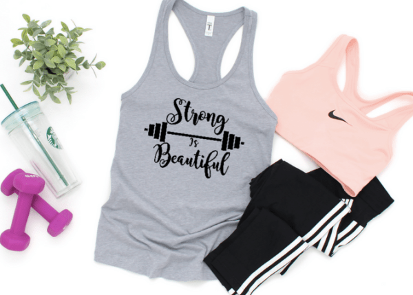 Strong is Beautiful SVG