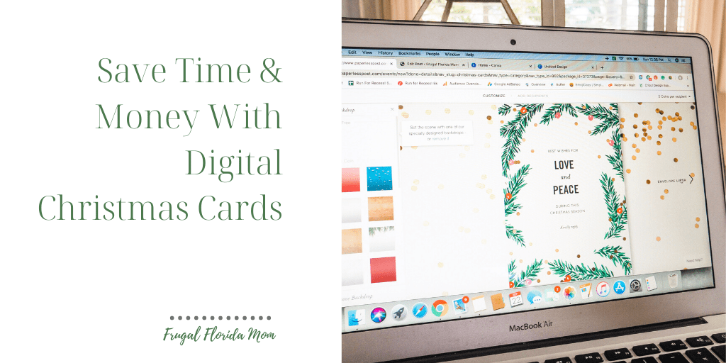 Think Outside The Envelope - Why I'm Sending Digital Christmas Cards With Paperless Post