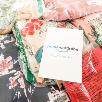 Using Amazon Prime Wardrobe