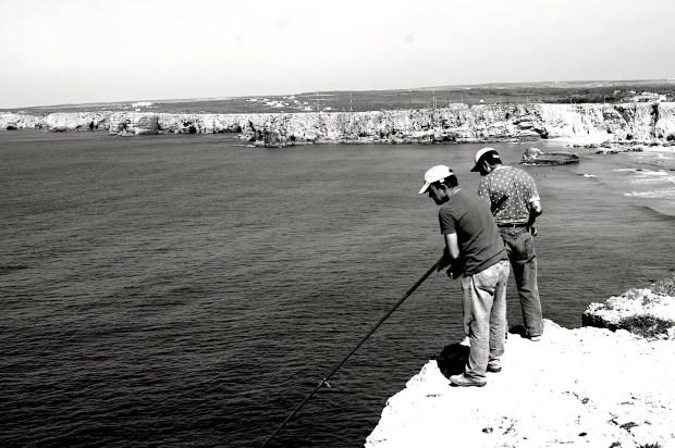 Fishermen at Sagres, Portugal