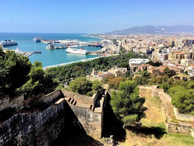 Castillo to Malaga