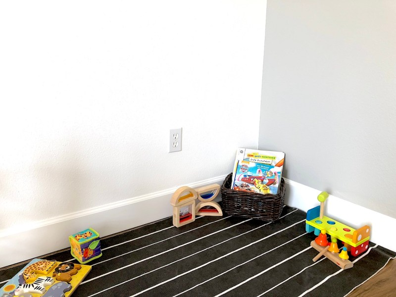 A nice and cozy space will have your kids want to read