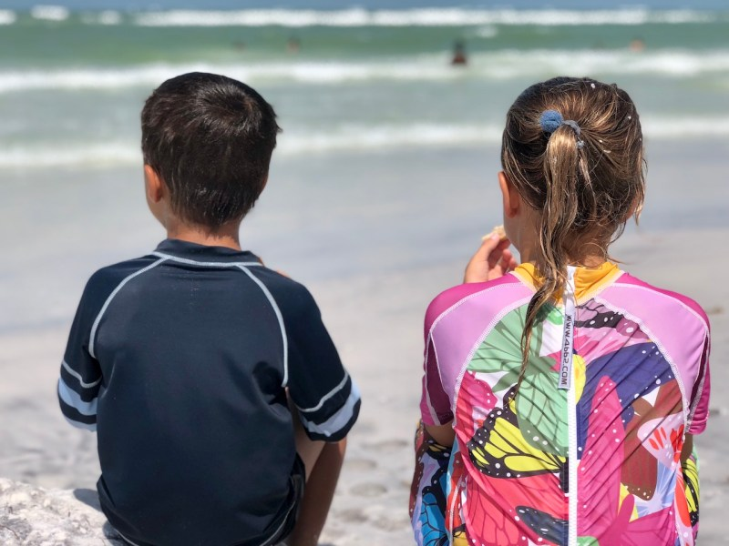 Fort de Soto Beach, near Orlando, FL, is the perfect beach to come with children