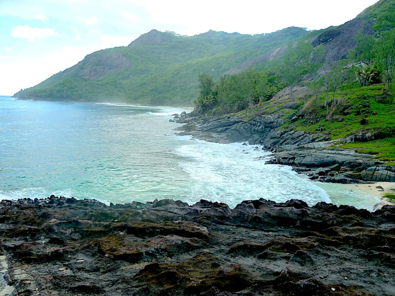 Silhouette Island Hidden Beach