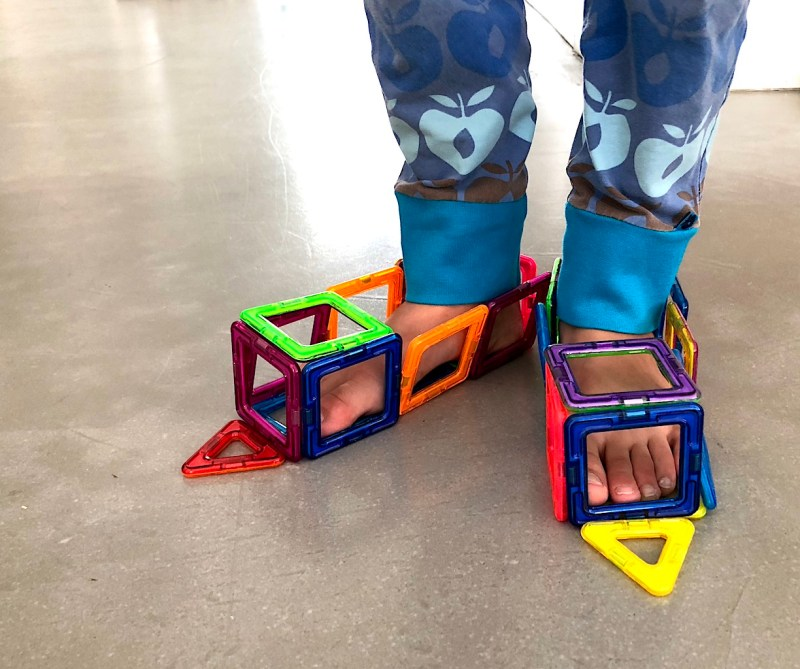 Magformers Shoes - Best STEM toy for children of all ages #Magformers #STEM #STEMToys #BestToy #AwardWinning
