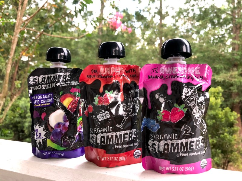 Feeling healthy with Slammers, superfood snack in a pouch #slammers #slammerssnacks #organic #fuelforfun #fuelthefun #fuelforschool