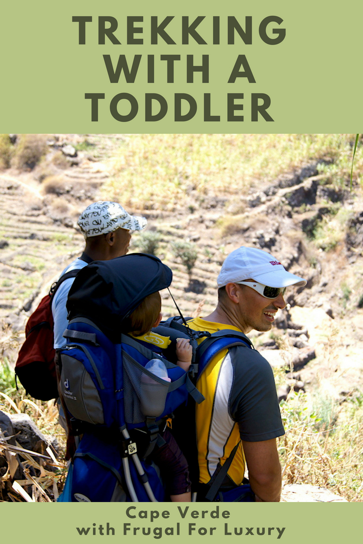 Trekking Cape Verde with a guide and a toddler #CapeVerde #Trekking #AdventureTravel