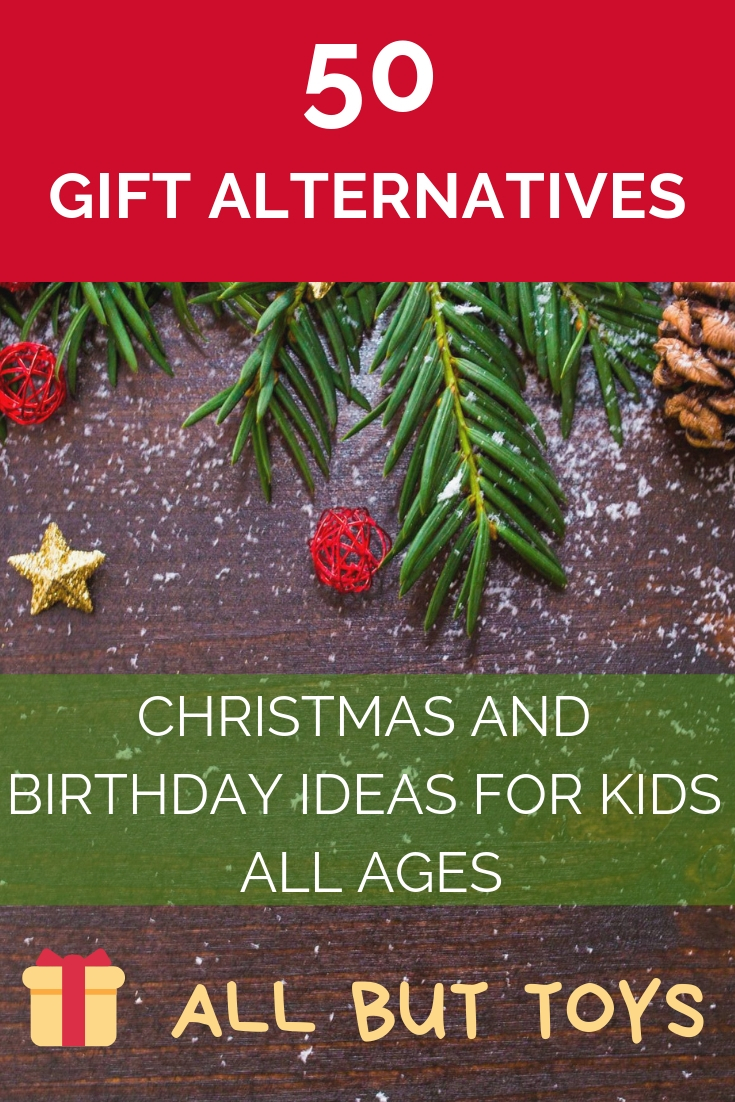 50 Christmas gift alternatives for kids | 50 birthday gift alternatives for kids | Best gifts for kids that are not toys | Gift ideas for children | Children gift ideas | #chritmasgift #birthdaygift #giftideas #giftsforkids #giftsforchildren #bestgifts