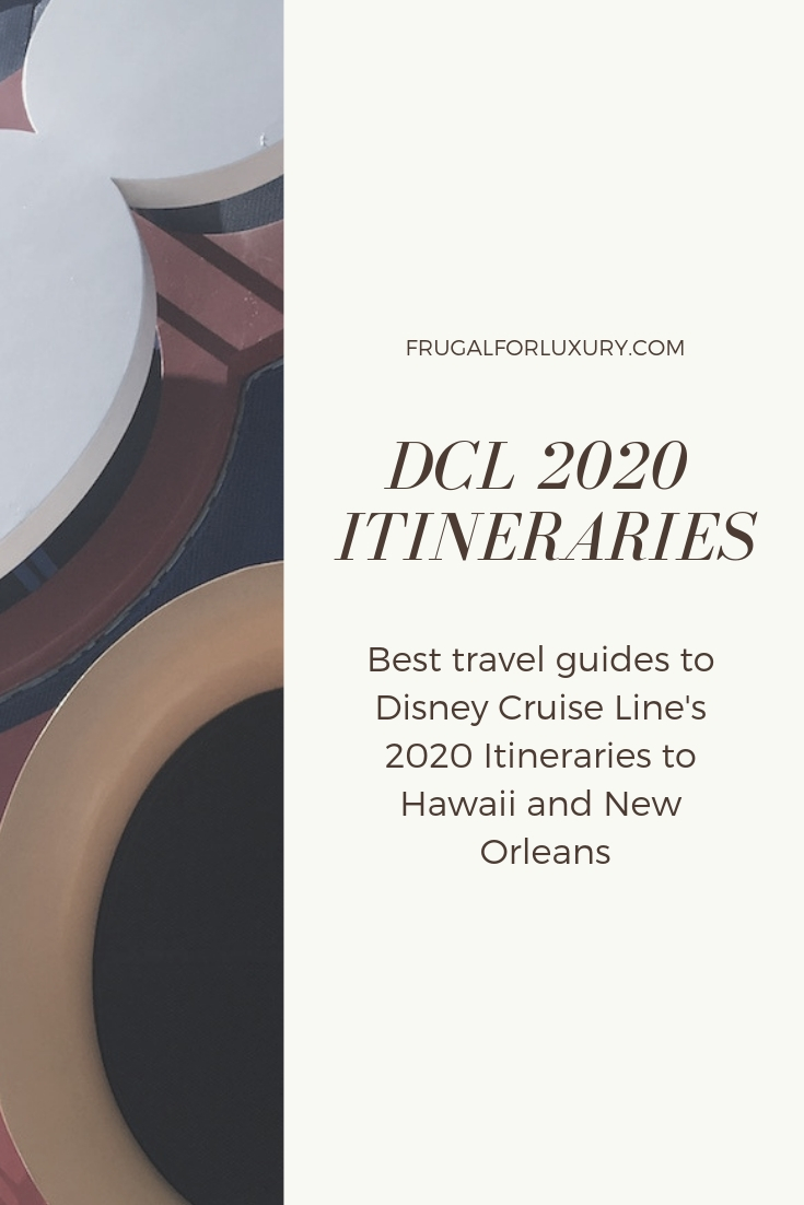 DCL has announced their new 2020 itineraries. They are going back to Hawaii from Vancouver and sailing from New Orleans for the first time ever. Get inspiration from travel bloggers on what each destination holds for you! | DCL | Hawaii Cruise | New Orleans #DisneyCruise #DCL #DisneyCruiseLine #DCL2020 #HawaiiCruise #NewOrleans
