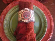 No time for making napkin rings? Home Spun with Love has you covered. Their free printables can be found at: http://homespunwithlove.blogspot.com/2011/11/thanksgiving-napkin-rings.html