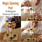 Magic Spinning Pen A Magnet Science Experiment For Kids Frugal Fun For Boys And Girls