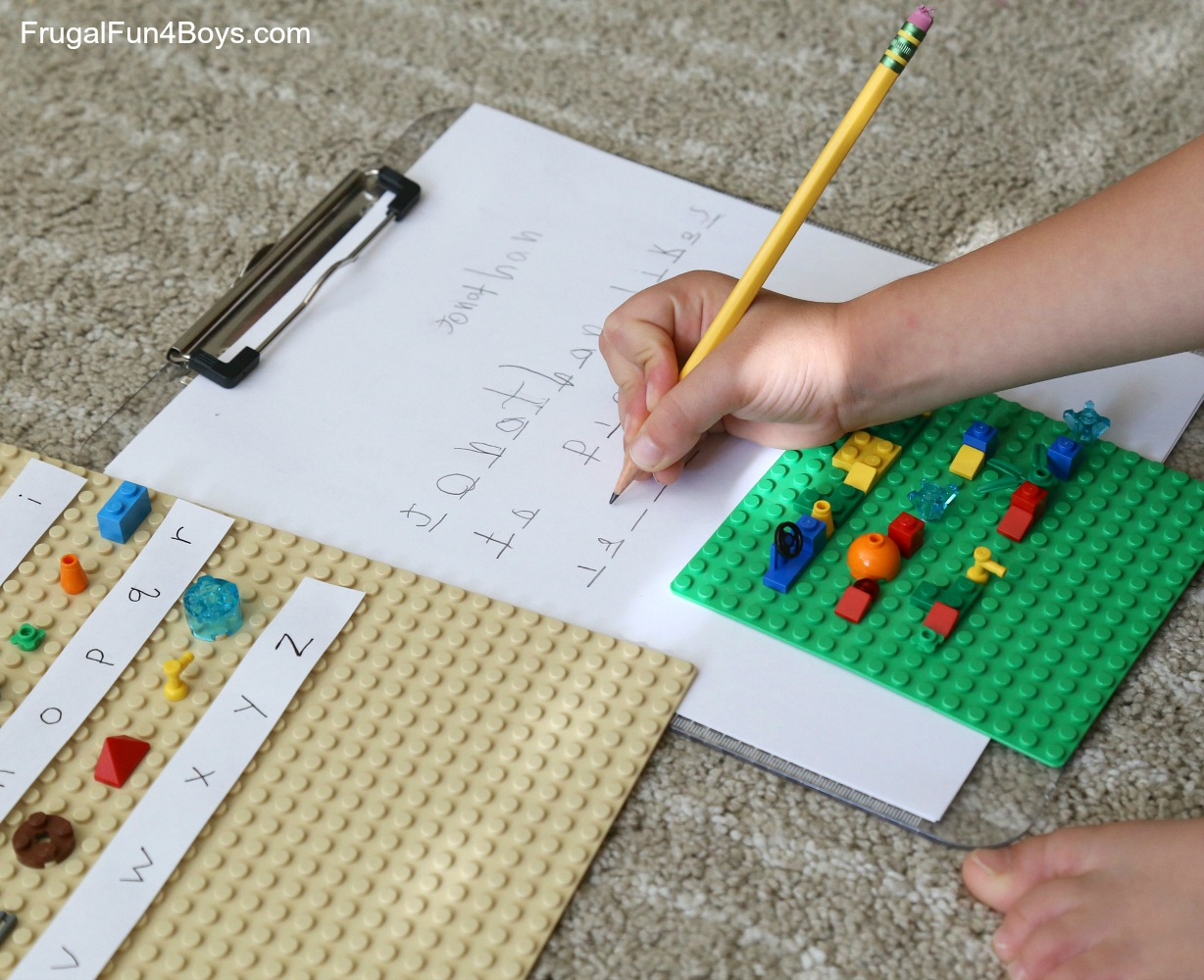 Secret Codes Write Coded Messages With Lego Bricks