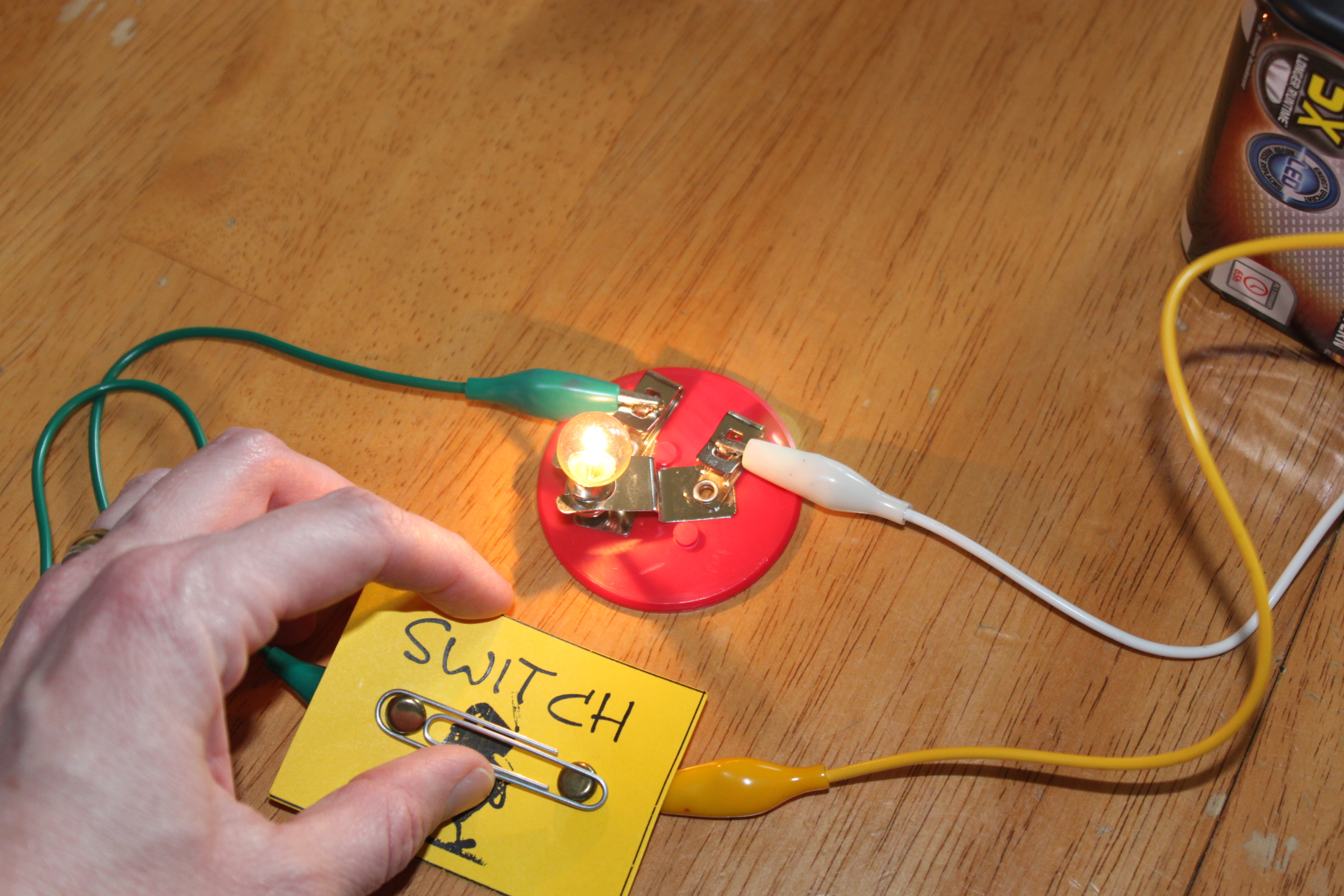 Electrical Circuit For Kids