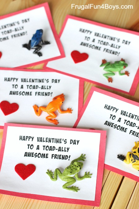 """""""Toad-ally Awesome"""" Boy Approved Valentines"""