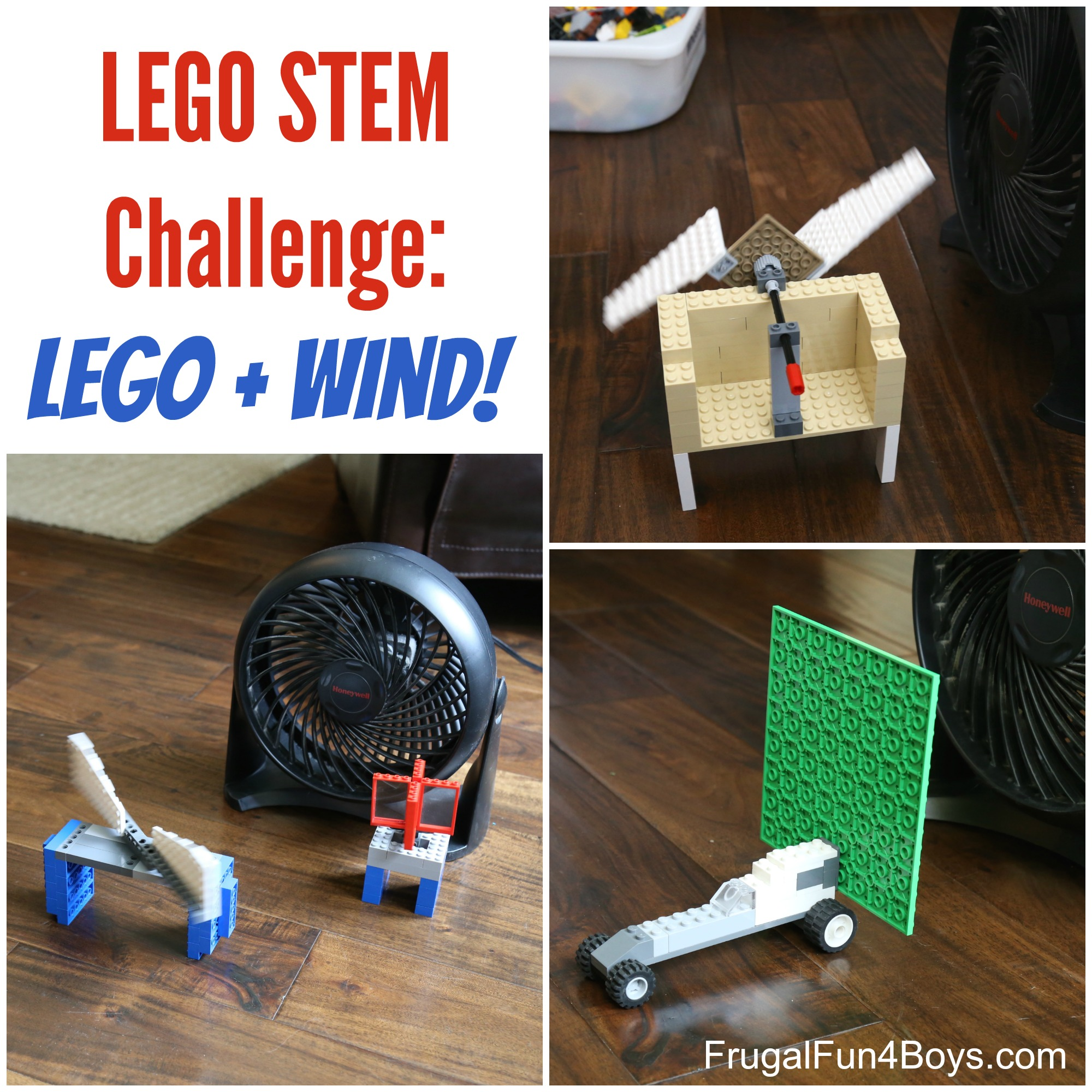 Lego Stem Challenge Wind Powered Lego Contraptions